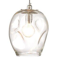 Dimpled Glass Pendant Light