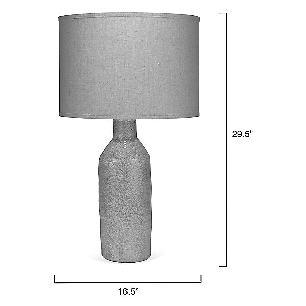 Dimple Carafe Table Lamp