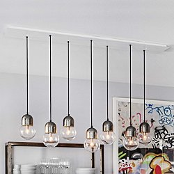 Let's Vacation in Nantucket Linear Suspension Light