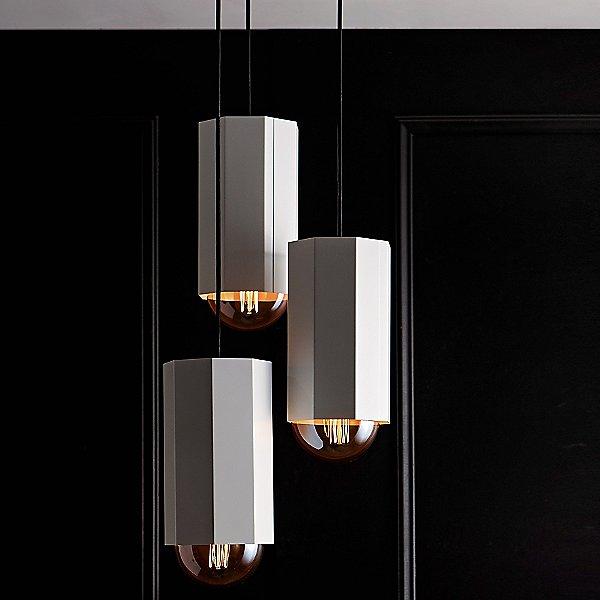 Hex Multi-Light Pendant Light