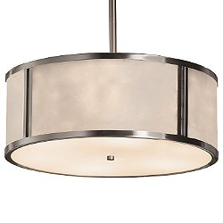 Clouds Tribeca Drum Pendant Light