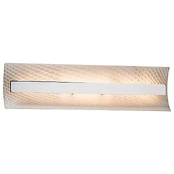 Weave shade / Polished Chrome finish / 21 Inch size