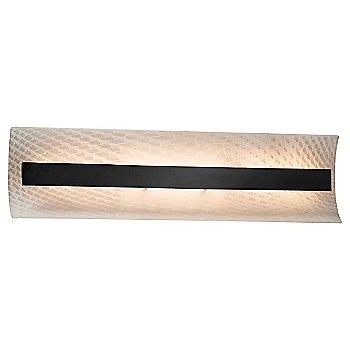 Weave shade / Matte Black finish / 21 Inch size