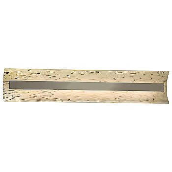 Droplet shade / Brushed Nickel finish / 29 Inch size