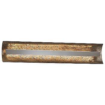 Mercury shade / Brushed Nickel finish / 29 Inch size