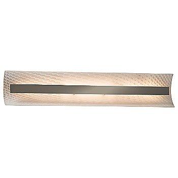 Weave shade / Brushed Nickel finish / 29 Inch size