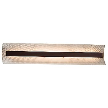 Weave shade / Dark Bronze finish / 29 Inch size