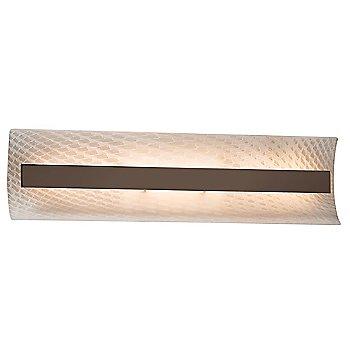 Weave Color / Dark Bronze Finish / 21 Inch Size