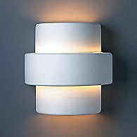 Step Wall Sconce by Justice Design Group (S)-OPEN BOX RETURN