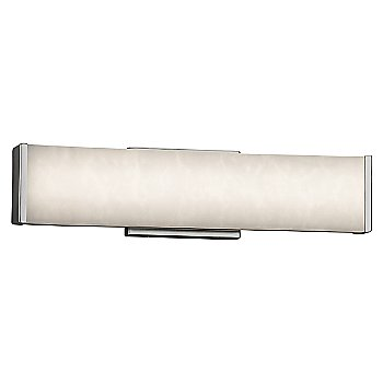 Brushed Nickel finish / 19-Inch
