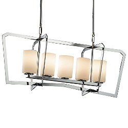 Aria 5-Light Linear Suspension Light
