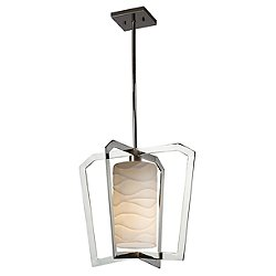 Porcelina Aria 1-Light Pendant Light