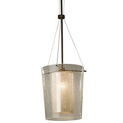 Fusion Amani 1-Light Center Drum Pendant Light