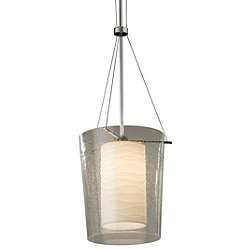 Porcelina Amani 1-Light Center Drum Pendant Light