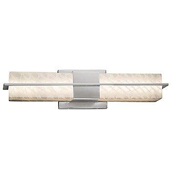 Brushed Nickel finish / Weave shade