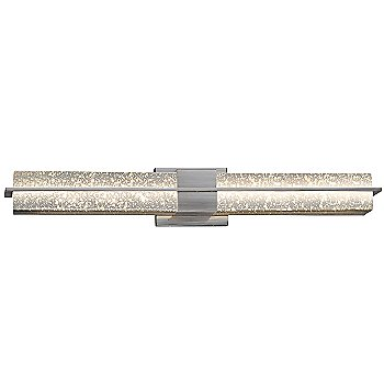 Brushed Nickel finish / Mercury shade