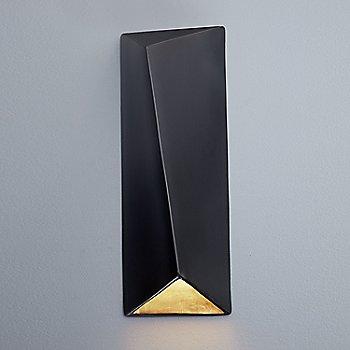 Carbon Matte Black with Champagne Gold Interior / illuminated