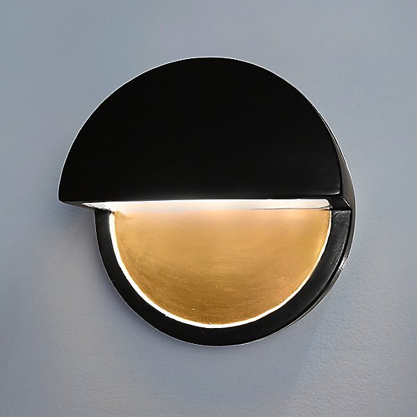 Ceramics ADA Dome Outdoor LED Wall Sconce (Closed Top)