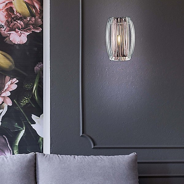 Bohemia Aplique Small Crystal Wall Sconce