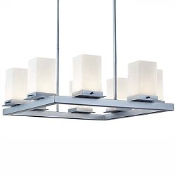 Fusion Laguna Eight Light LED Outdoor Chandelier