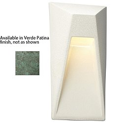 Ambiance Vertice Outdoor Wall Sconce (Verde Patina)-OPEN BOX