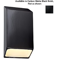 Ambiance Tapered Wall Sconce (Carbon-Black/Small) - OPEN BOX