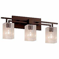 Fusion Aero 3-Light Bath Bar(Bronze/3Lights)-OPEN BOX RETURN