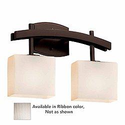 Fusion Archway Bath Bar(Ribbon/Bze/Incand/2 Lights)-OPEN BOX