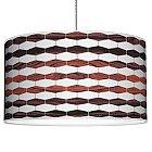 Weave 3 Pendant Light (Rosewood/16 Inch) - OPEN BOX RETURN