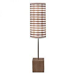 Weave 3 Cuboid Table Lamp (Walnut) - OPEN BOX RETURN