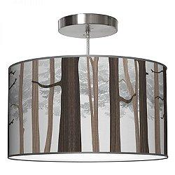 Forest Drum Pendant Light