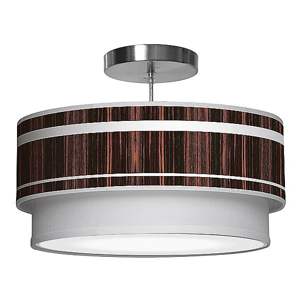 Band Double Tiered Pendant Light