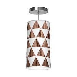 Triangle 1 Column Pendant Light