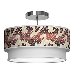 Cell Double Tiered Pendant Light