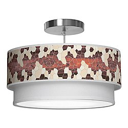 Geode Double Tiered Pendant Light