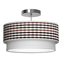 Weave 3 Double Tiered Pendant Light