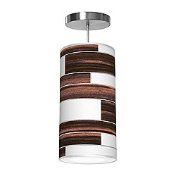 Tile 3 Column Pendant Light