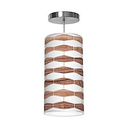 Weave 3 Column Pendant Light