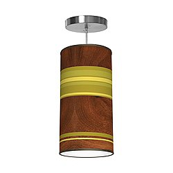 Horizontal Stripey Column Pendant Light