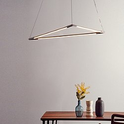 THIN Primaries Triangle Pendant Light