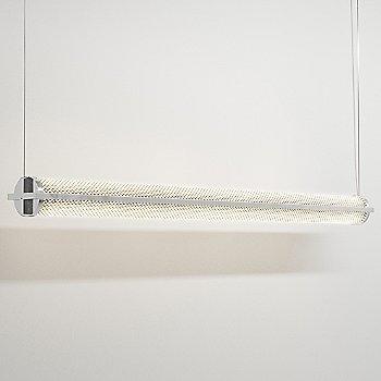Polished Aluminum finish / 48-Inch / Mesh