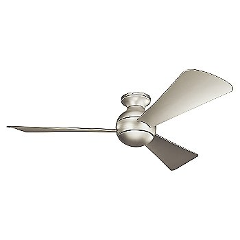 Brushed Nickel with Silver blades / 54 inch / Light cap / not illuminated