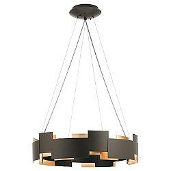 Moderne Round LED Chandelier