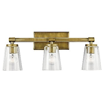 Natural Brass finish / 3 Light