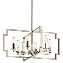 Downtown Deco Light Chandelier/Semi Flush