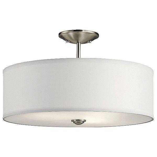 Shailene 18-Inch 3 Light Semi Flush