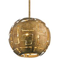 Gold Globe Pendant Lighting