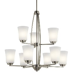 Tao 9 Light Chandelier