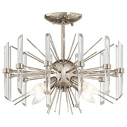 Eris Semi-Flush Mount Ceiling Light