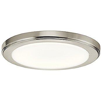 Brushed Nickel finish / Medium size